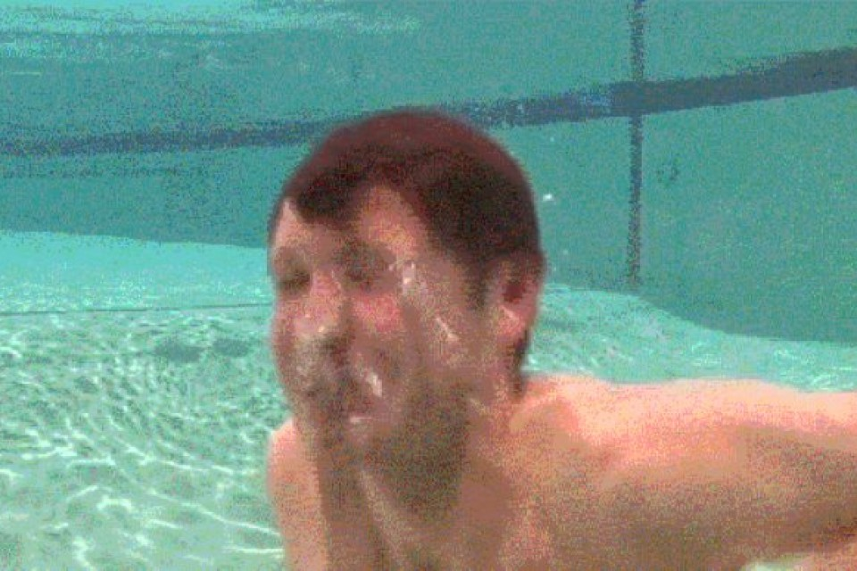 Funny Pool Accident