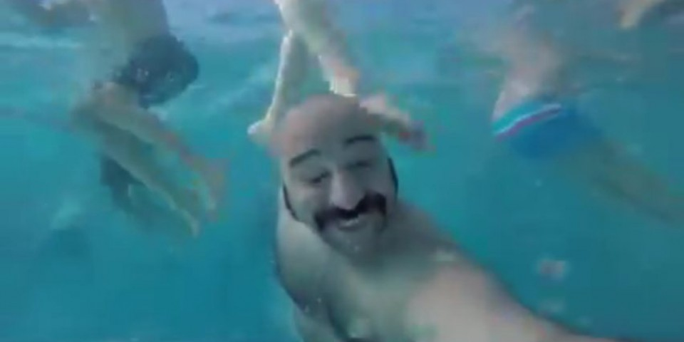 Underwater Video Selfie Accidents
