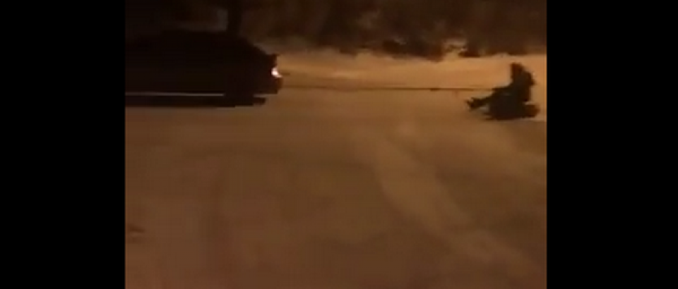 Crazy Winter Accident
