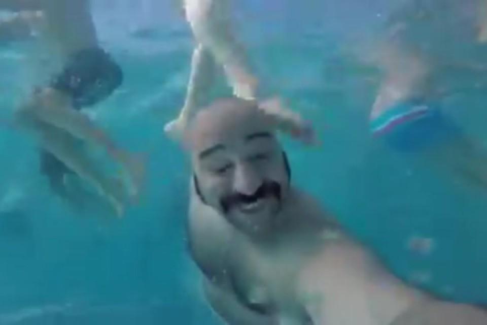 Underwater Video Selfie Accidents