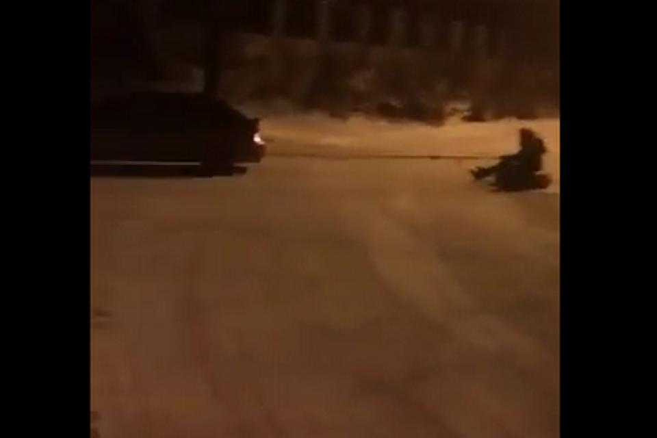 Crazy Winter Accident